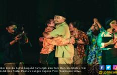 Repnas dan Teater Pandora Ajak Masyarakat Damai Meski Beda Pilihan Politik - JPNN.com