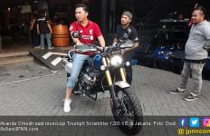 Bertemu Motor Impiannya, Omesh: Gokil! - JPNN.com