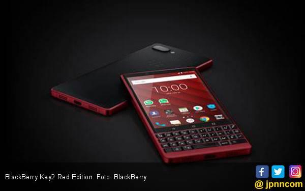 BlackBerry Key2 Red Edition, Menggoda Mata - JPNN.com