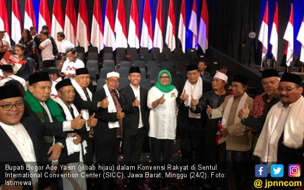 Bupati Ade Yasin Ajak Warga Bogor Menangkan Jokowi – Kiai Ma'ruf Amin - JPNN.com