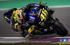Tes Pramusim MotoGP 2019 Qatar: Rossi Masih Keluhkan Yamaha YZR-M1 - JPNN.com