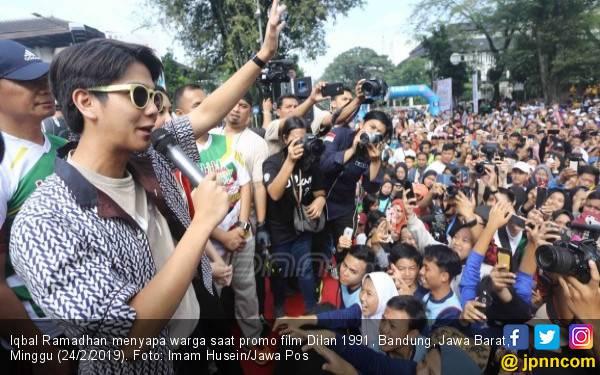 Merayakan Hari Dilan di Bandung, Heboh, Seru - JPNN.com