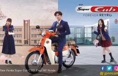 Honda Super Cub C110 Baru Tambah Warna Jadul - JPNN.com