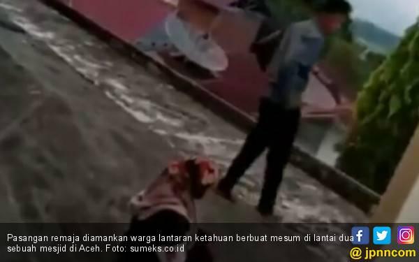 Pasangan Remaja Diamankan Warga Lantaran Berbuat Mesum di Masjid - JPNN.com
