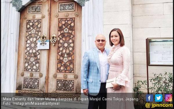 Hadiri Pernikahan Syahrini di Jepang, Maia Estianty: Tempat Bersejarah bagi Kami - JPNN.com