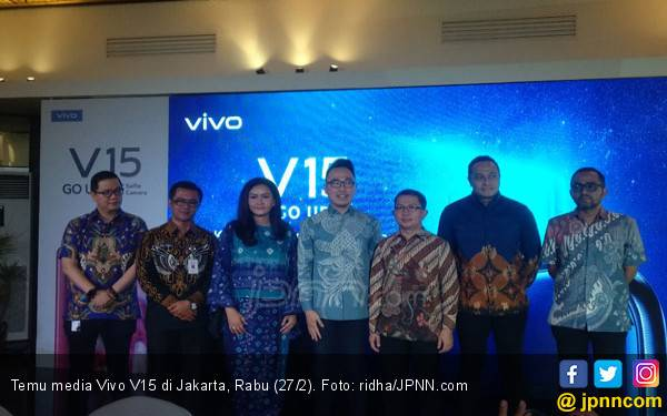 Vivo V15 Siap Guncang Wisata Air Mancur Purwakarta, Bulan Depan - JPNN.com