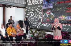 Mbak Tutut ke Desa Wisata Samiran, Disambut Meriah - JPNN.com