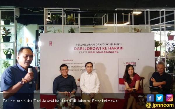 Buku 'Dari Jokowi ke Harari', Kampanye dengan Cara Mendidik - JPNN.com