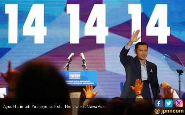 AHY Batal Ikuti Kampanye Akbar Prabowo - Sandi - JPNN.com