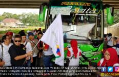 Indonesia Kian Maju, Relawan Jokowi Beramai-ramai Jajal Tol Trans Sumatera - JPNN.com