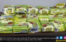 Lagi, Penyelundupan 30 Kg Sabu-sabu Dalam Plastik Teh Lewat Pantai Timur Sumut - JPNN.com