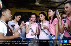 Seger, Puluhan Finalis Putri Indonesia Kunjungi Rutan Cipinang - JPNN.com