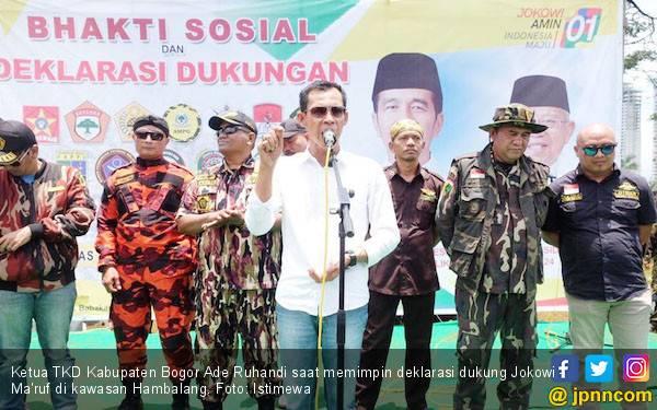 Lintas Ormas se-Kabupaten Bogor Deklarasi Dukung Jokowi - JPNN.com