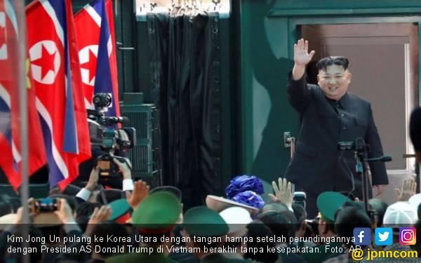 Kim Jong Un Pulang Tanpa Hasil, Sangat Malu - JPNN.com