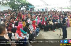 Presiden Jokowi: Semuanya Dimulai dari Kecil - JPNN.com
