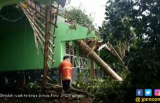 Pohon Tumbang Hancurkan Ruang Kelas di Sekolah - JPNN.com