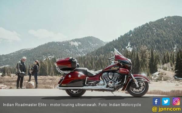 Motor Touring Ultramewah dengan Lencana Emas 24 Karat - JPNN.com