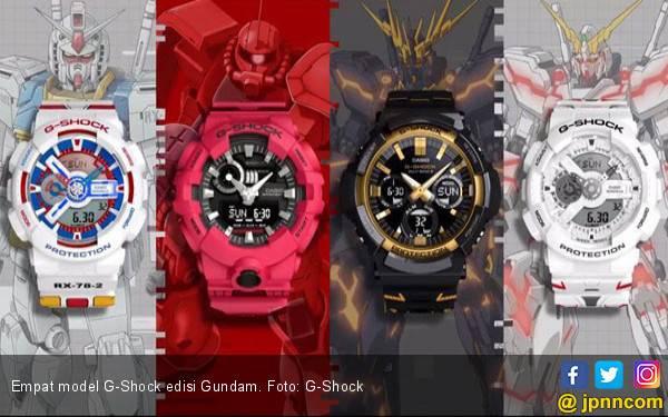 Casio Tawarkan 4 Model G-Shock Edisi Gundam - JPNN.com