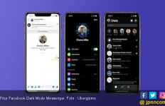 Facebook Mulai Ujicoba Fitur Dark Mode Messenger - JPNN.com