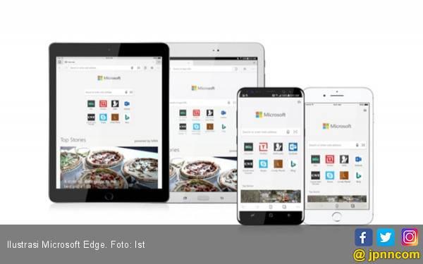 Pembaruan Microsoft Edge untuk iOS Bawa Fitur Baru - JPNN.com