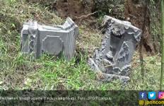 Jelang Nyepi, Tiga Ornamen Simbol Umat Hindu Dirusak Orang tak Dikenal - JPNN.com