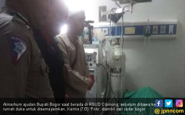 Innalillahi, Ajudan Bupati Bogor Meninggal saat Tugas - JPNN.com
