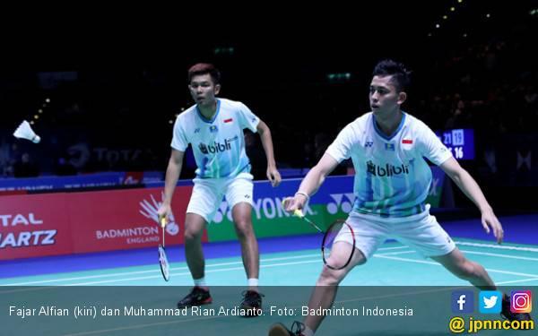 Fajri Bersyukur Dapat Tiket 16 Besar Blibli Indonesia Open 2019 - JPNN.com