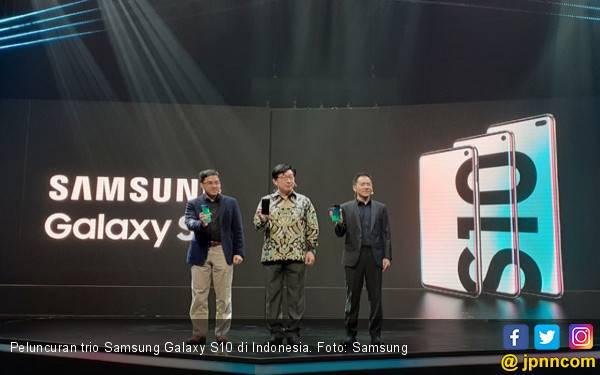 Pembaruan Software Samsung Galaxy S10 Bawa Peningkatan Fitur - JPNN.com