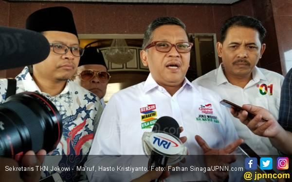Hasto Bilang Kiai Ma'ruf Amin Sudah Bikin Kejutan - JPNN.com