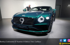 Bentley Continental GT Number 9 Edition, Cuma 100 Unit, Khusus Buat Kolektor - JPNN.com