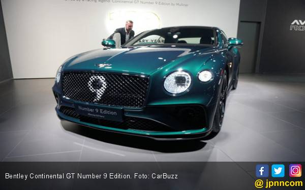 Bentley Continental GT Number 9 Edition, Cuma 100 Unit, Khusus Buat Kolektor - JPNN.com
