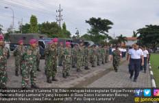 Satgas Banjir Lantamal V Diberangkatkan ke Madiun - JPNN.com