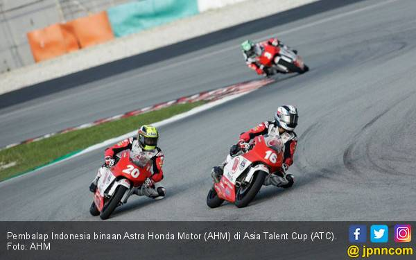 Pembalap Indonesia Binaan Honda Siap Panaskan Laga ATC 2019 - JPNN.com