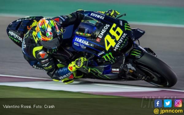 Finis ke-2 di MotoGP Argentina, Rossi Masih Kecewa dengan Yamaha - JPNN.com