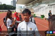 Pelatih Timnas Indonesia Indra Sjafri: Itu Bukan Urusan Kami - JPNN.com