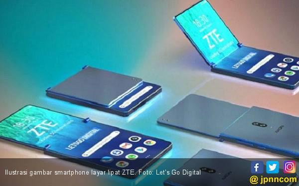 Smartphone Layar Lipat ZTE Tanpa Kamera Selfie? - JPNN.com