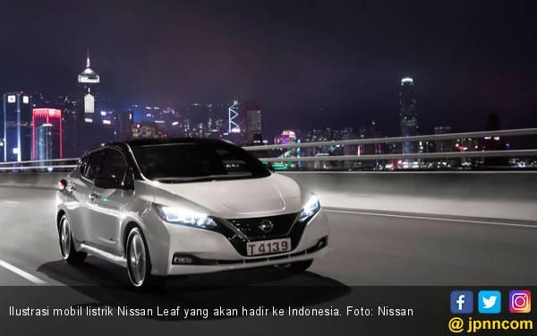 Mobil Listrik Nissan Leaf Bersiap Melancong ke Indonesia Tahun Depan - JPNN.com