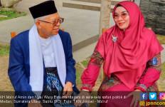 Cerita Bu Nyai Wury Tetap Happy Dampingi Kiai Ma'ruf Bersafari - JPNN.com
