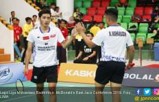 LIMA Badminton: Tim Putra Universitas Negeri Malang Jegal Ubaya - JPNN.com