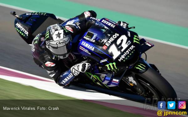 Vinales Start Paling Depan di MotoGP Qatar, Marquez Ketiga - JPNN.com