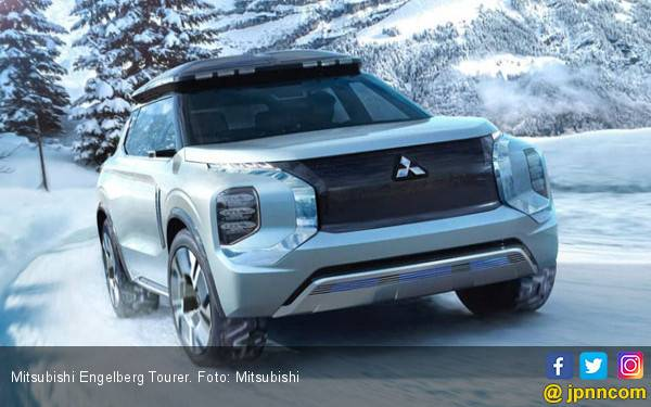 Debut Dunia Mitsubishi Engelberg Tourer, SUV Cerdas - JPNN.com