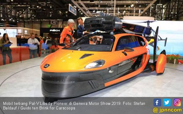 Mobil Terbang Pal-V di Geneva Motor Show 2019, Harga Rp 8 Miliar Lebih - JPNN.com
