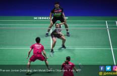 Praveen / Melati Nyaris Taklukkan Ganda Nomor 1 Dunia di Semifinal All England 2019 - JPNN.com
