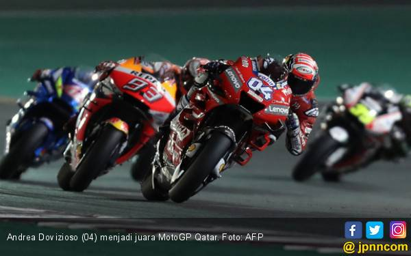 Kemenangan Ducati di Seri Pembuka MotoGP 2019 Tersandung Protes - JPNN.com