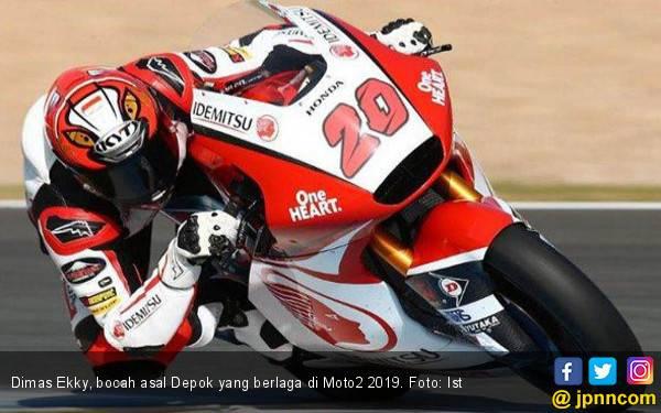Bocah Depok Finis di Laga Perdana Moto2 2019 di Qatar - JPNN.com