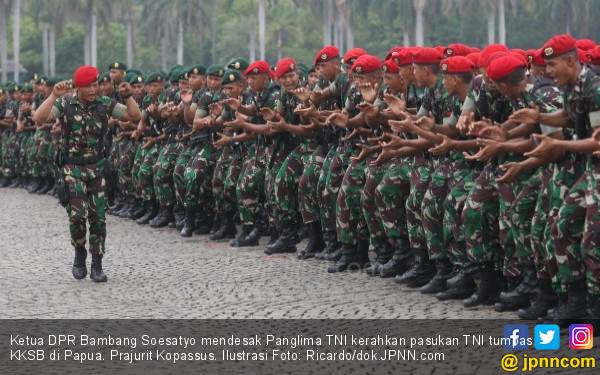 Ketua DPR Desak Panglima TNI Kerahkan Pasukan Tumpas KKSB - JPNN.com