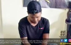 5 Kilogram Sabu-sabu dari Malaysia Berhasil Diamankan Bea Cukai Kalbagbar dan BNN - JPNN.com