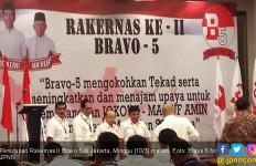 Ingin Jokowi - Ma'ruf Berjaya di Seluruh Provinsi, Bravo 5 Genjot Militansi - JPNN.com