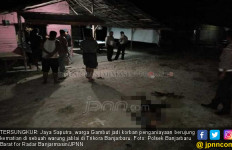 Tragedi Warung Remang-Remang, Jaya Saputra Meninggal Mengenaskan - JPNN.com