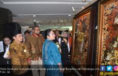 Titiek Soeharto dan Istri Sandiaga Uno Hadiri Pameran Pelukis Jalanan - JPNN.com